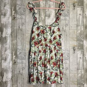 Free People | Low Back Floral Dress